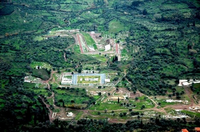Η Αρχαία Μεσσήνη είναι η καλύτερα αναστηλωμένη αρχαιά πόλη.
